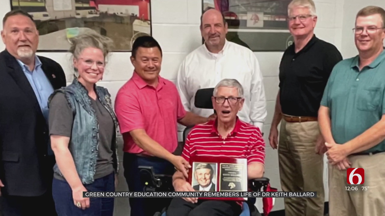 Green Country Education Community Remembers Life Of Dr. Keith Ballard