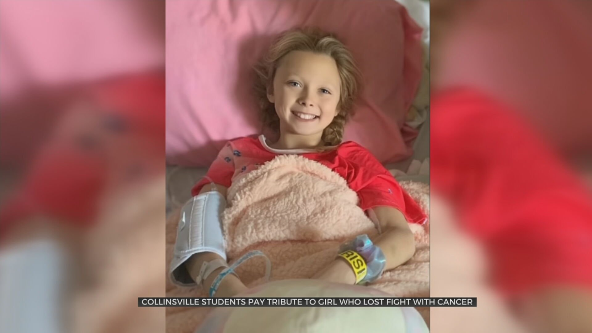Collinsville Students Pay Tribute To Girl Who Lost Fight With Cancer
