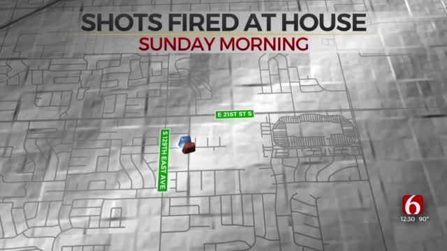 Shots Fired Into Tulsa Home; Police Investigation Underway