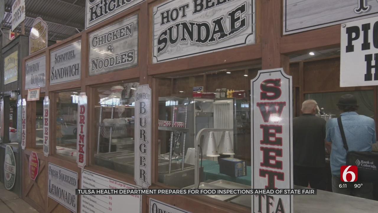 Tulsa Health Dept. Works With Tulsa State Fair Vendors To Keep Food Safe