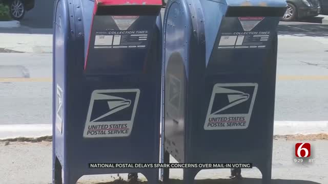 Tulsa Leaders Prepare To Handle Mail-In Voting As National Postal Delays Spark Concern