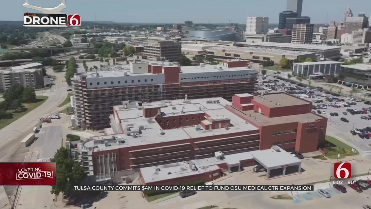 Tulsa County Commits $4 Million In Federal Dollars To OSU Medical Center Expansion