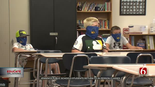 Jennings Public Schools Students Return To In-Person Classes