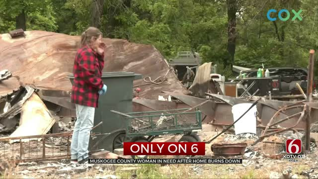 Muskogee County Woman Sews Masks For Front-Line Workers, Loses House In Fire