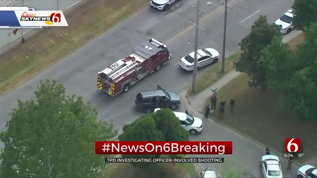 2 Tulsa Officers Involved In Shooting After Chase