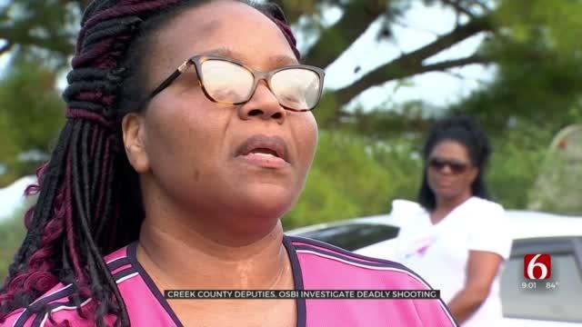 Mother In Shock As Creek County Deputies, OSBI Investigate Deadly Shooting