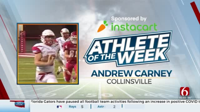 Instacart Athlete Of The Week: Andrew Carney