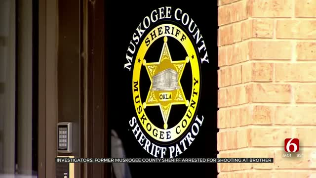 Former Muskogee Co. Sheriff Accused Of Reckless Conduct With Gun, Firing Shot Into Truck