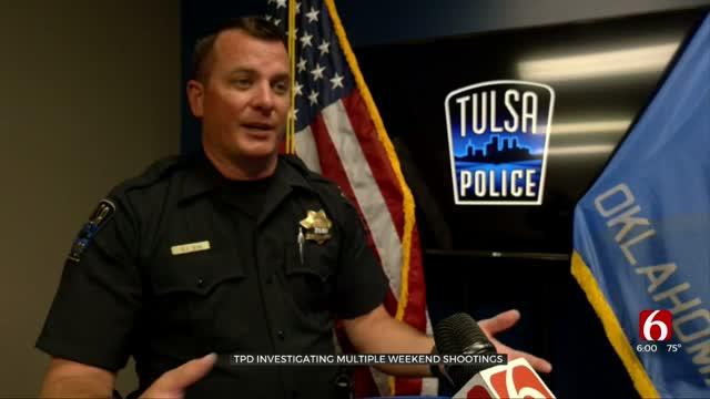 TPD Investigating Multiple Weekend Shootings, Say It's 'Unusual'