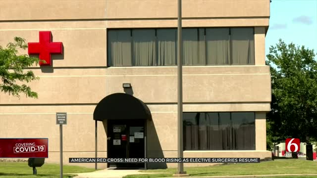 Oklahoma American Red Cross Still In Need Of Blood Donations