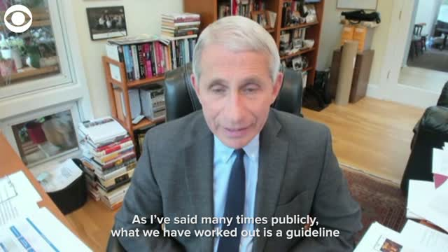 Dr. Fauci Concerned Over Possibilities Of Future Outbreaks