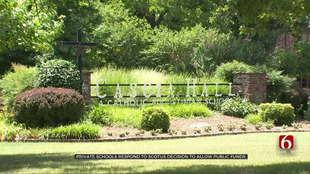 Private Schools Respond To SCOTUS Decision To Allow Public Funds