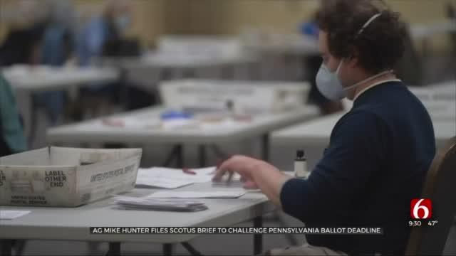 Okla. Attorney General Files SCOTUS Brief To Challenge Pa. Ballot Deadline