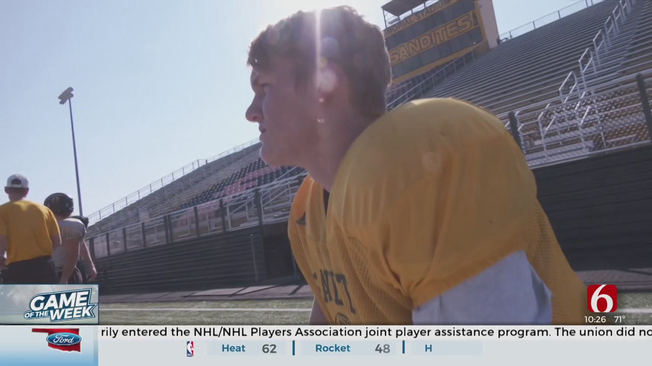 Third Generation Sand Springs Quarterback Suits Up To Carry Legacy Of School, Family