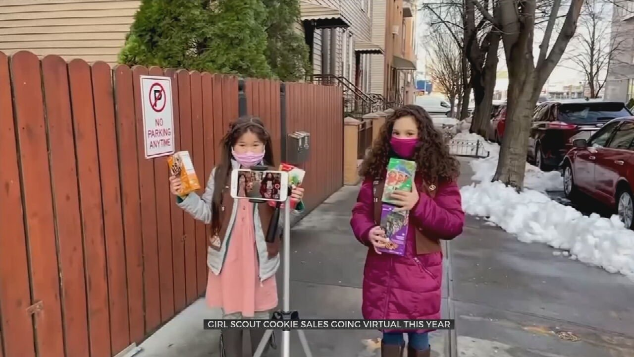 Girl Scouts Begin Cookie Season Virtually