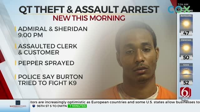 Tulsa Police Arrest Man After Gas Station Robbed