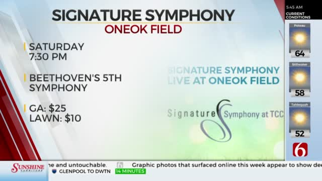 Signature Symphony Holds Concert At ONEOK Field