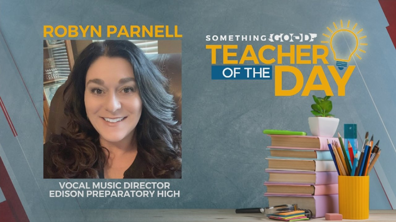 Teacher Of The Day: Robyn Parnell
