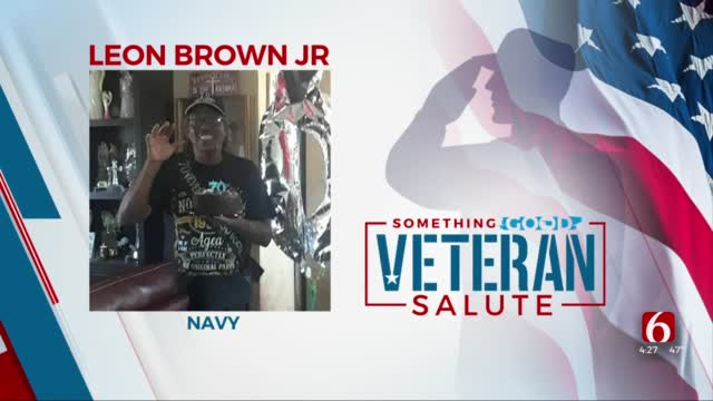 Veteran Salute: Leon Brown Jr.