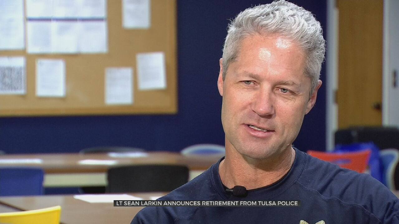Longtime Tulsa Police Lieutenant Stepping Away From Force