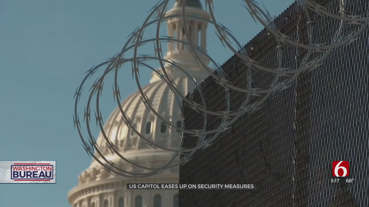 US Capitol Scales Back Security Measures