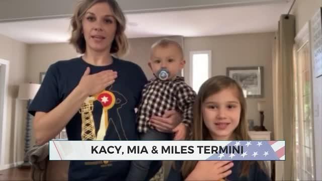 Daily Pledge: Kacy, Mia & Miles