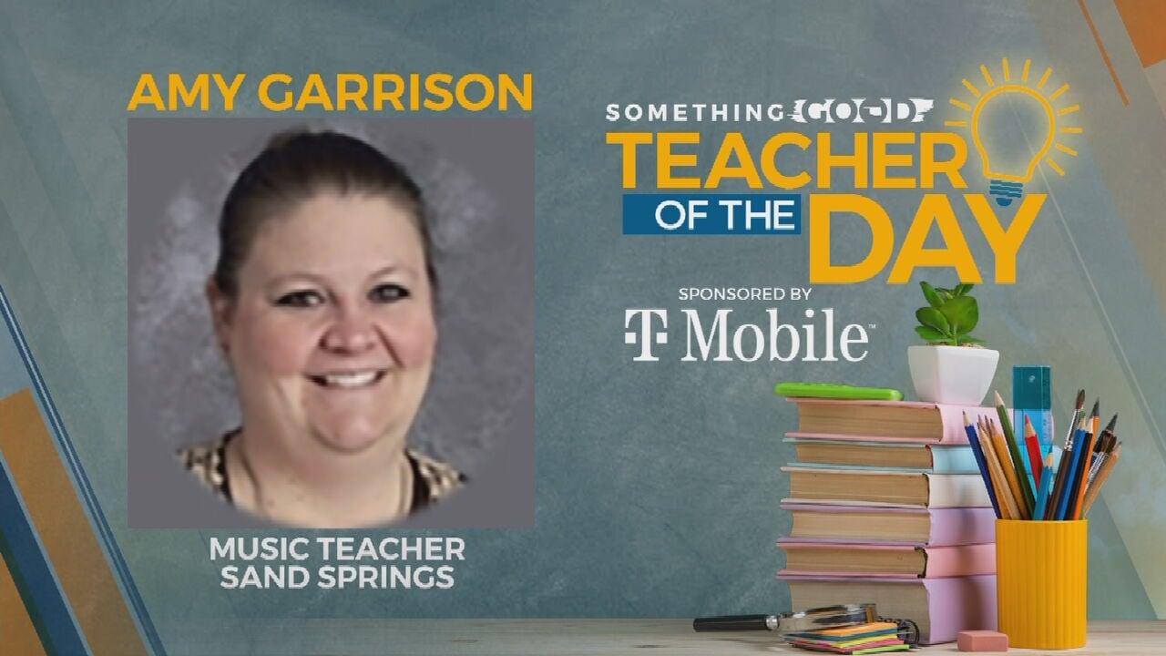Teacher Of The Day: Amy Garrison