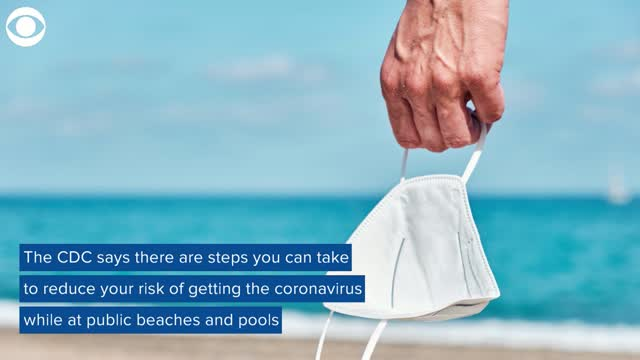 Going To The Pool Or Beach? Here's Some Tips From The CDC To Stay Safe During COVID-19