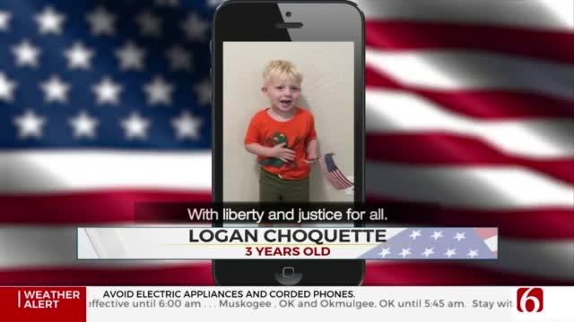 Daily Pledge: Little Logan Choquette