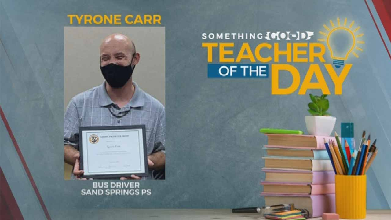 Teacher Of The Day: Tyrone Carr