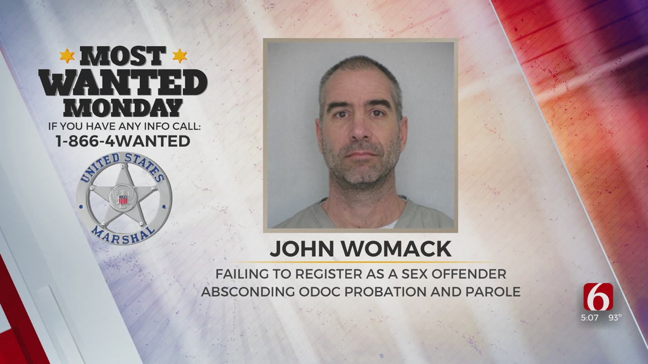 Most Wanted: U.S. Marshals Searching For John Womack