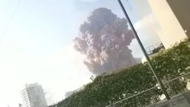 WOW: Massive Explosion Shakes Lebanon's Capital Beirut