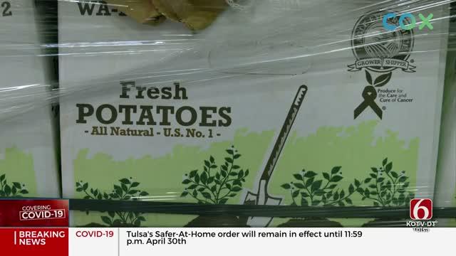 Coronavirus Food Assistance Program Aims to Help Farmers, Food Banks