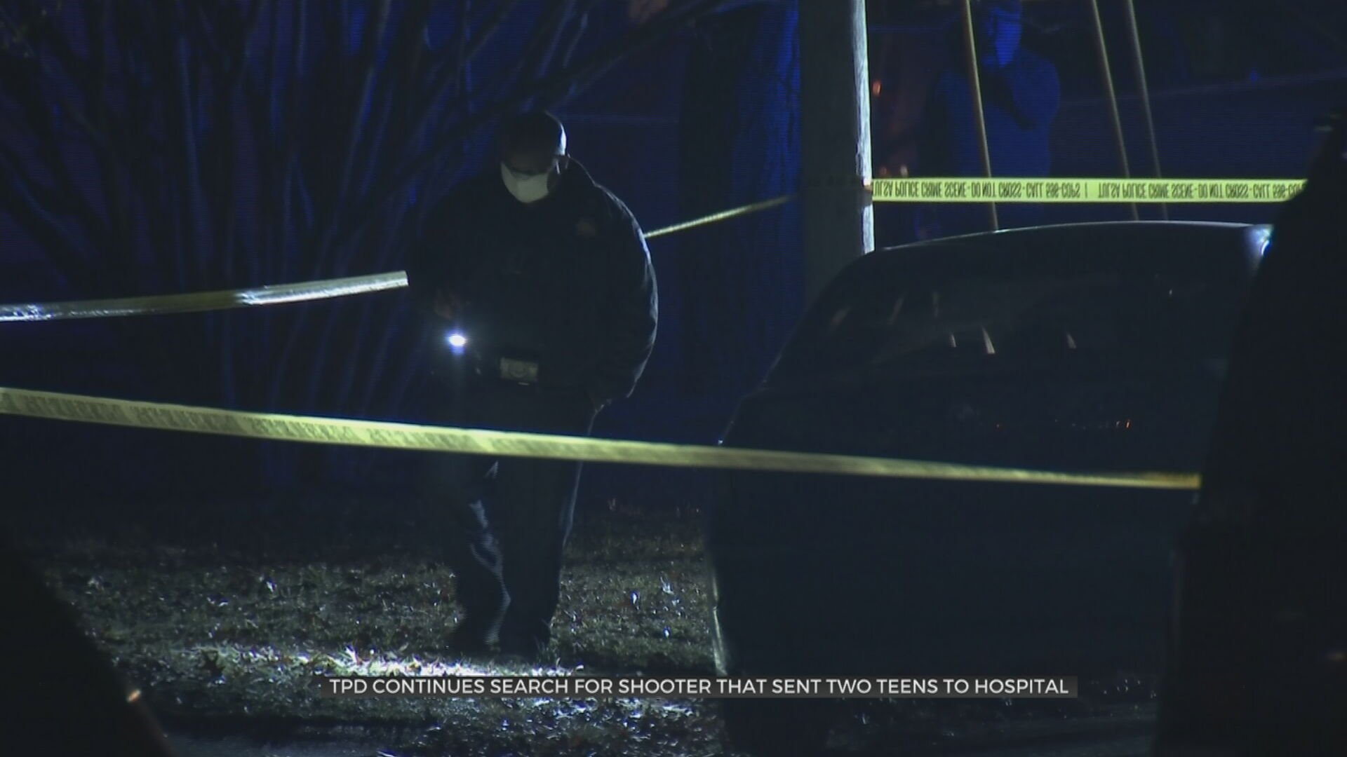 Tulsa Police: Two Teenagers 'Fighting For Their Lives' After Shooting