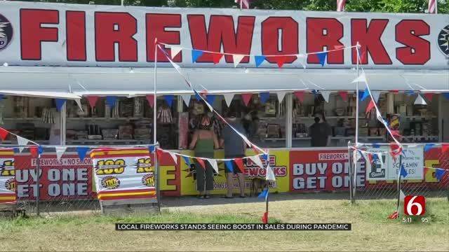 Local Fireworks Stands Seeing Boost In Sales During Pandemic