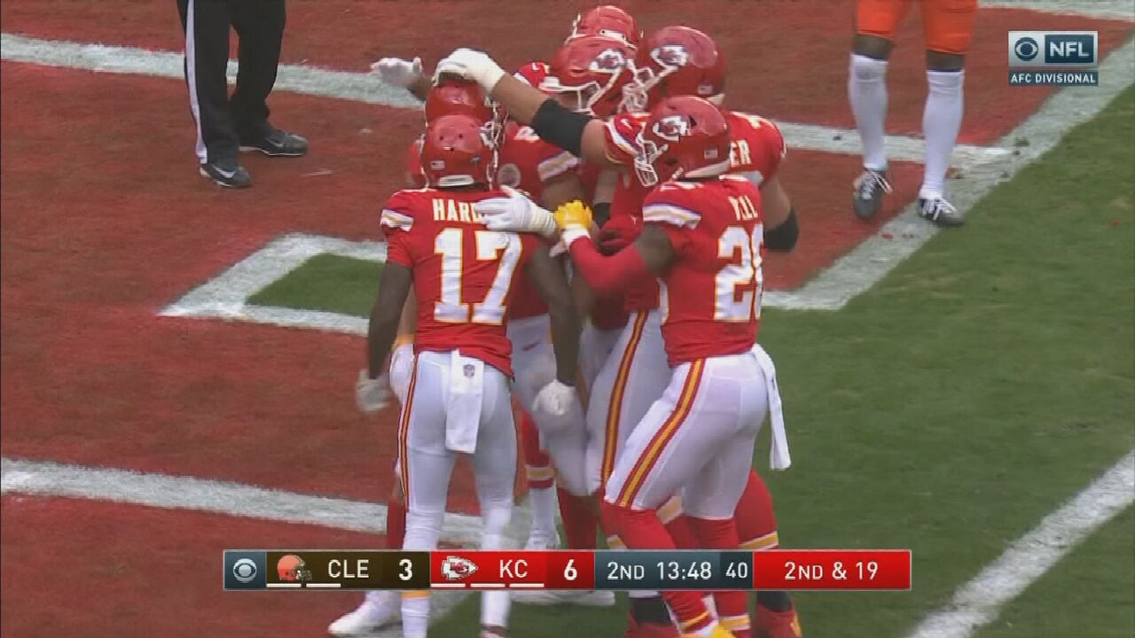 Watch: Jonathan Cooper Joins The 6 In The Morning Team To Talk About The Chiefs' Playoff Win