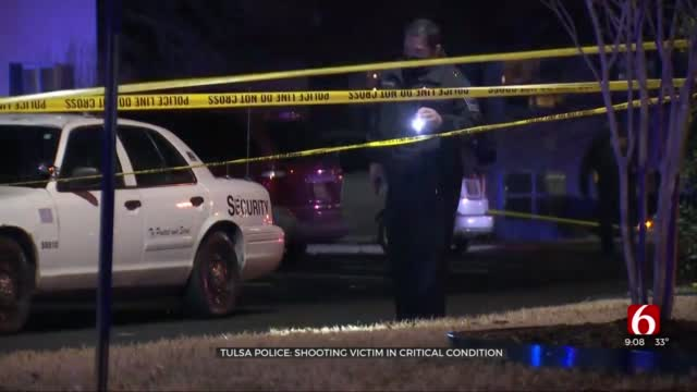 Tulsa Police: Shooting Victim In Critical Condition