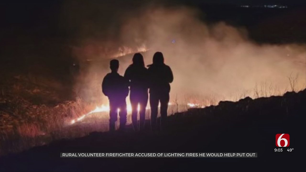 18-Year-Old Ochelata Firefighter Accused Of Purposefully Setting 19 Fires