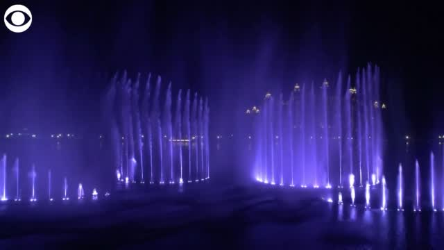 Watch: World's Largest Fountain Unveiled In Dubai