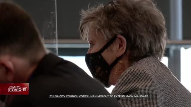 Tulsa City Council Unanimously Passes Mask Ordinance Extension