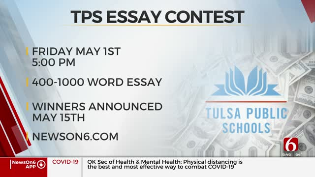 Tulsa Public Schools Holds Essay Contest On Coronavirus Impact For Seniors