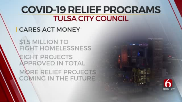 Tulsa City Council Approves New Projects From COVID-19 Relief Funds
