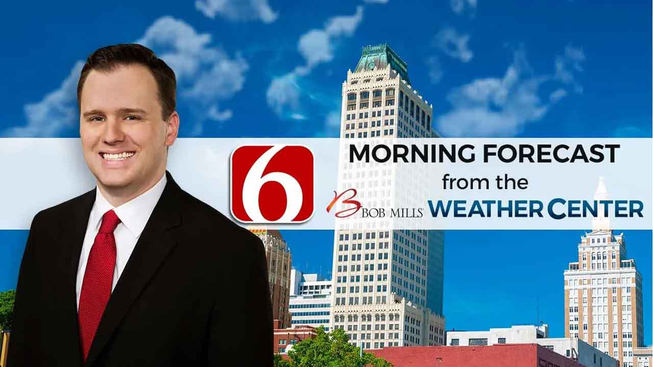 Friday Mid-Morning Forecast With Stephen Nehrenz