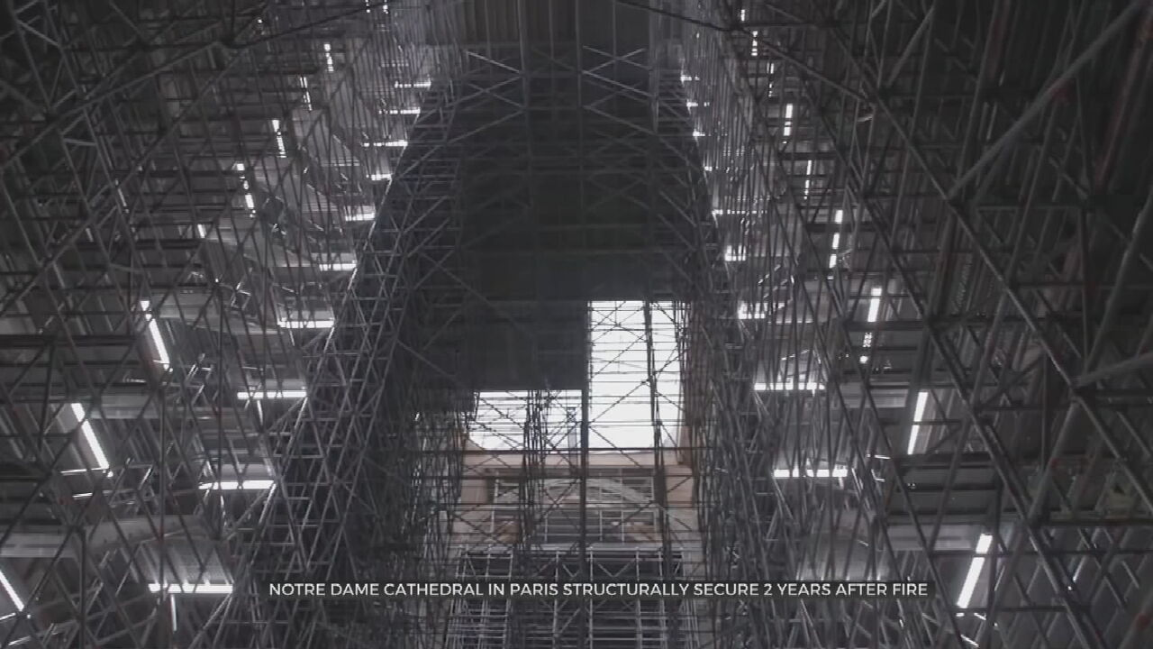 France's Notre Dame Cathedral Secured, Ready For Restorations To Begin