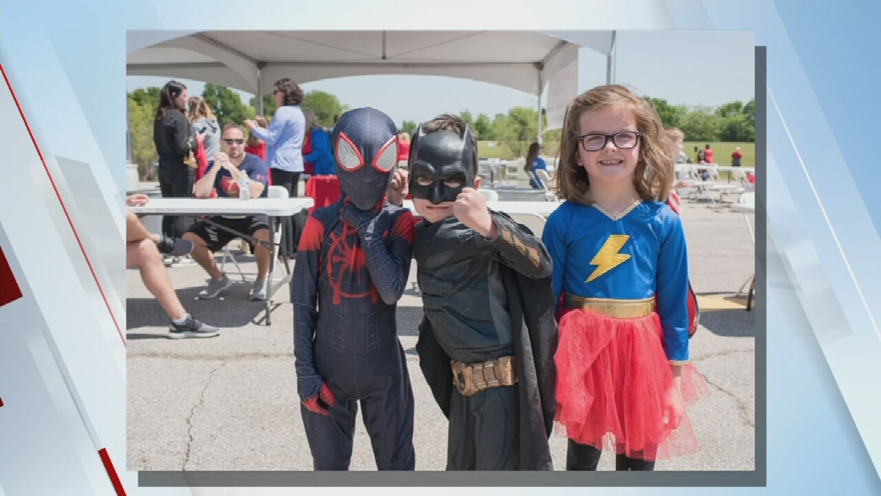 Kayla Vaughn From The Child Abuse Network Discuses The Superhero Challenge