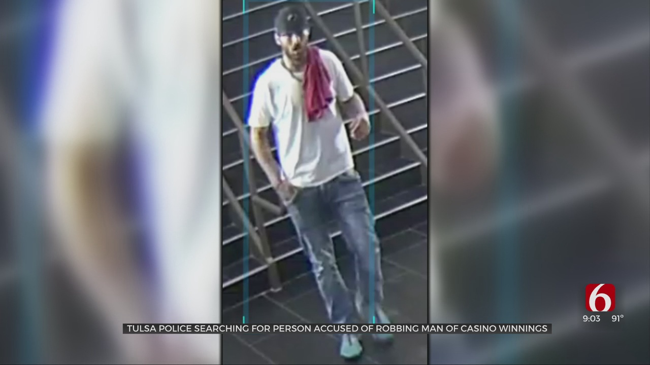 Man Robbed Of Casino Winnings At Gunpoint; Tulsa Police Searching For Suspect