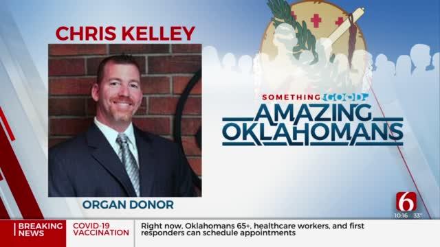 Amazing Oklahoman: Chris Kelley