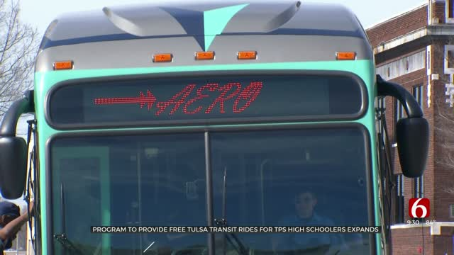 Program Expands To Provide TPS High Schoolers Free Tulsa Transit Rides Every Day