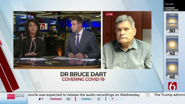 Watch: Dr. Dart Discusses COVID-19 In Tulsa