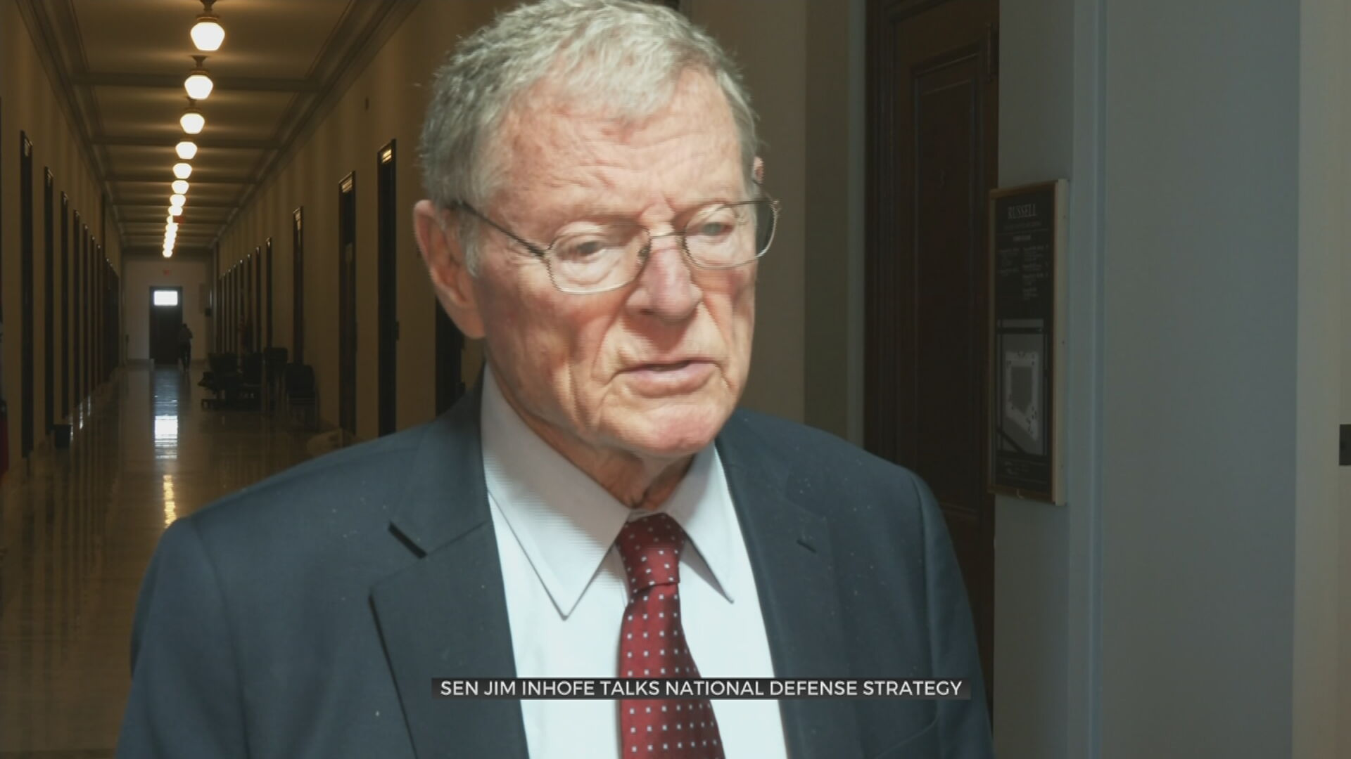 Sen. Inhofe Urges Policy Continuity For National Defense Strategy
